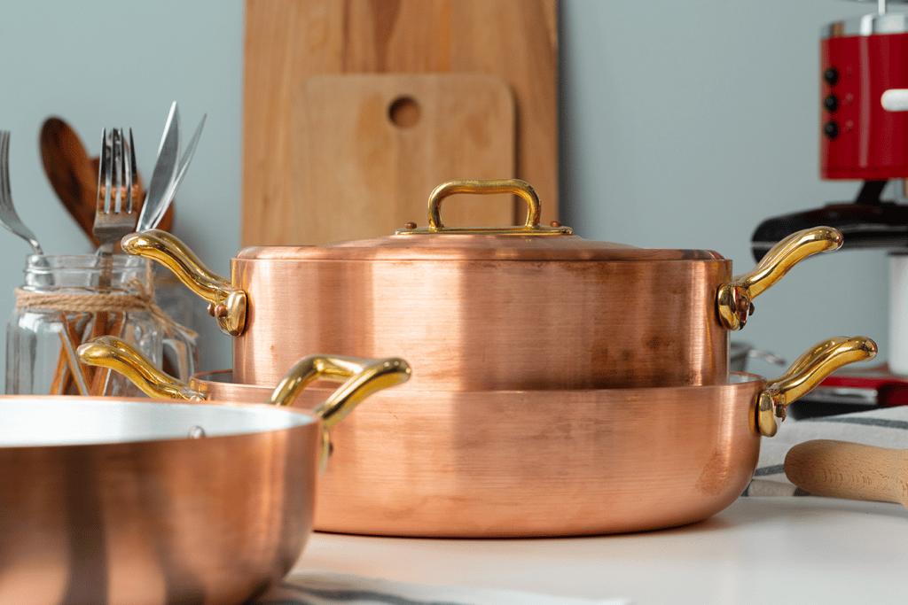 interior design fall copper pots